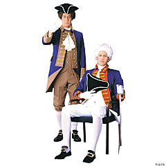 American Revolutionary Officer Adult Men's Costume