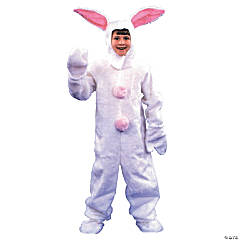Kid's White Easter Bunny Costume