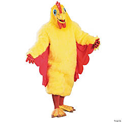 Comical Chicken Adult Men's Costume
