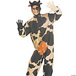 Comical Adult Men's Cow Costume