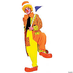 Dapper Dan Neon Clown Adult Men's Costume