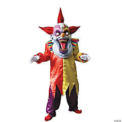 Evil Clown Red Yellow Adult Costume
