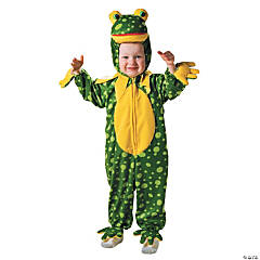 Frog Spotted Plush Kid's Costume