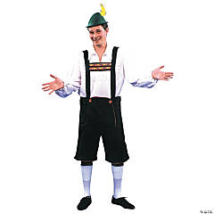 Lederhosen Adult Men's Costume