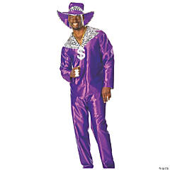 Mac Daddy Adult Men's Costume