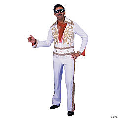 Rock N Roll Jumpsuit Adult Men's Costume