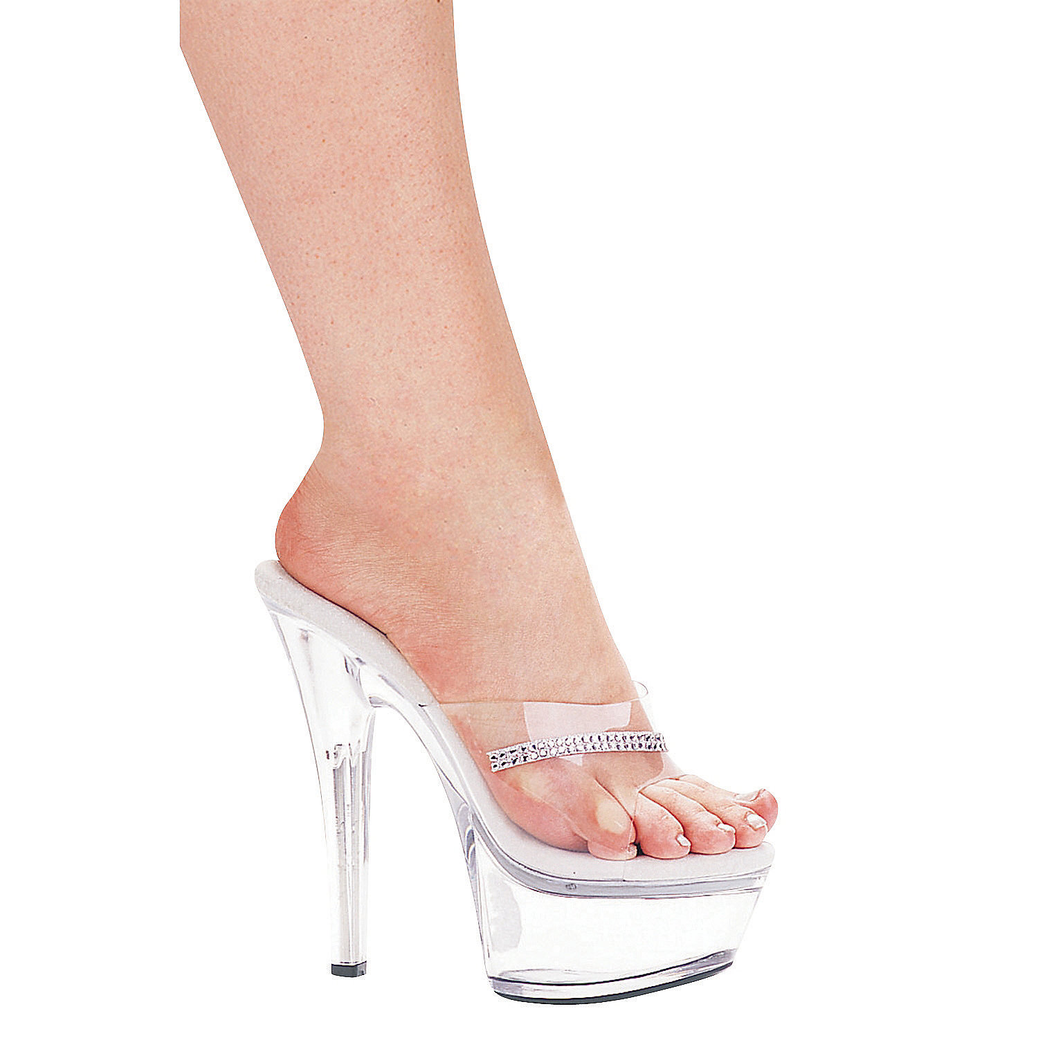 quot quot clear high heel platform shoes trading