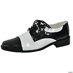 Black & White Oxford Shoes