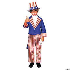 Uncle Sam Kid's Costume