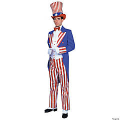 Uncle Sam Deluxe Adult Men's Costume