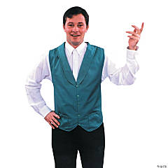 Vest Green Adult Men's Costume
