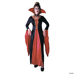 Victorian Vampiress Plus Size Adult Women's Costume