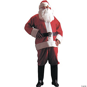 Santa Suit Adult Men's Costume