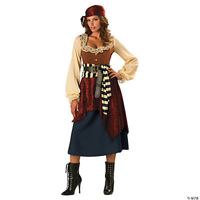 Buccaneer Beauty Plus Size Adult Women's Costume