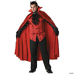 Devil Handsome Plus Size Adult Men's Costume