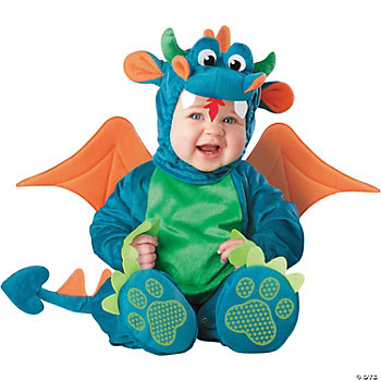Dinky Dragon Infant Kid's Costume