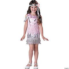Fancy Flapper Girl's Costume
