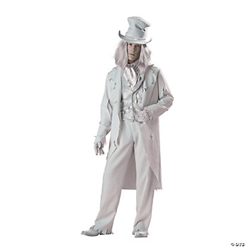 Ghostly Gent Adult Men's Costume