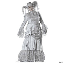 Ghostly Lady Plus Size Adult Women's Costume