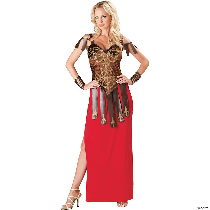 sc 1 st  Oriental Trading & Womenu0027s Gorgeous Gladiator Costume