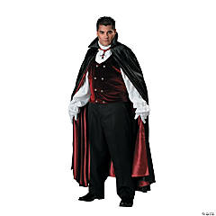 Gothic Vampire Plus Size Costume for Men