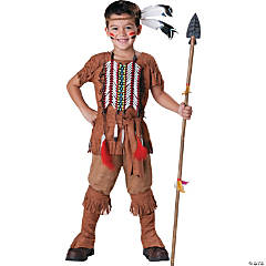 Boy's Indian Brave Costume