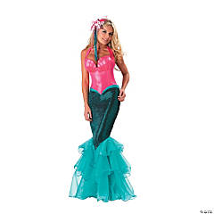Mermaid Adult Women's Costume