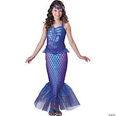 Mysterious Mermaid Girl's Costume