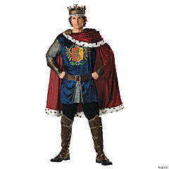 Noble King Adult Men's Costume