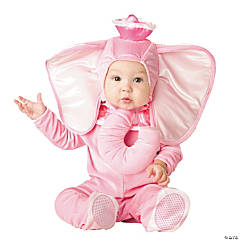Pink Elephant Infant Kid's Costume