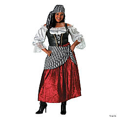 Plus Size Pirate's Wench Costume for Women