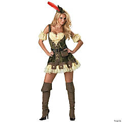Racy Robin Hood Adult Women's Costume