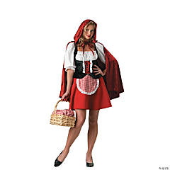 Sexy Red Riding Hood Adult Women's Costume