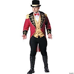 Ring Master Plus Size Adult Men's Costume