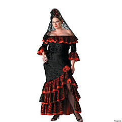 Senorita Plus Size Adult Women's Costume