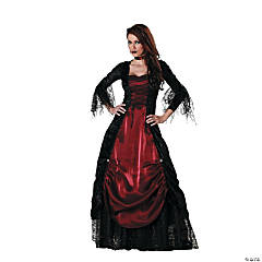 Vampira Gothic Adult Women's Costume