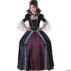 Vampiress Of Versailles Tween Girl's Costume