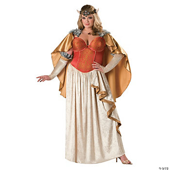 Viking Princess Plus Size Adult Women's Costume