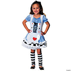 Alice Medium Girl's Costume