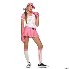 Baseball Teen Girl's Costume