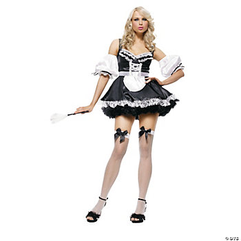 French Maid Adult Women's Costume. IN-13593731