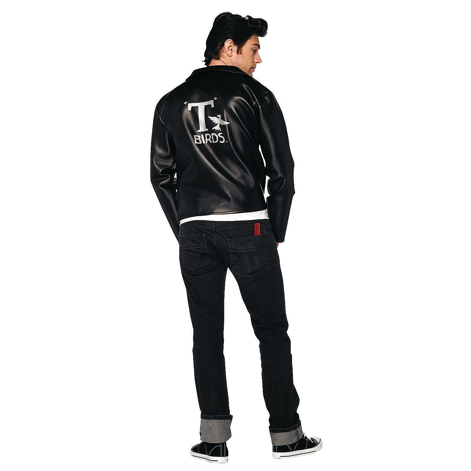 Grease T Bird Jacket Extra Large Adult Menu2019s Costume - Oriental Trading