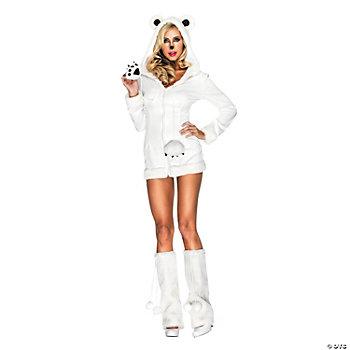 Polar Bear Snowy Adult Women's Costume. IN-13593760