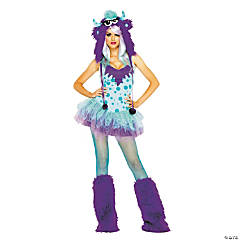 Polka Dotty Adult Women's Costume