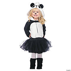 Precious Panda Costume for Toddler Girls