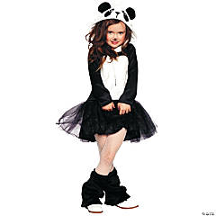 Pretty Panda Costume for Girls