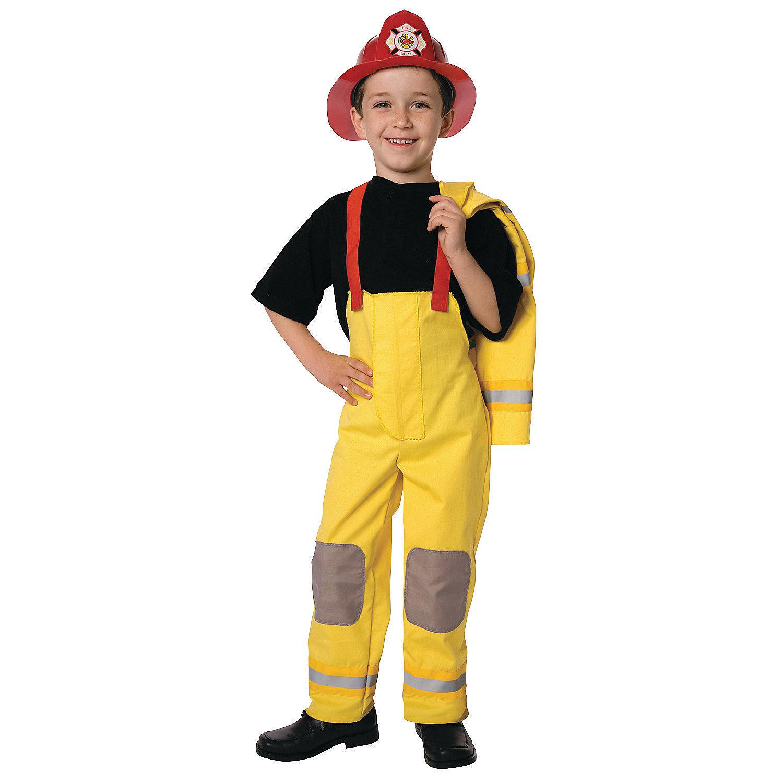 Костюм пожарного своими рук 97