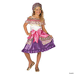 Gypsy Medium Girl's Costume