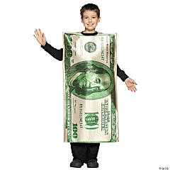 $100 Dollar Bill Kid's Costume