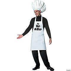 Bun Maker Men's Adult Costume